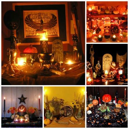 Samhain Collage
