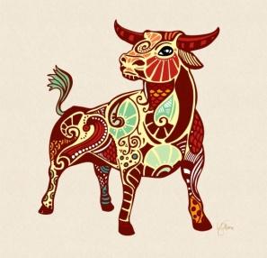 taurus-zodiac-bull-prints