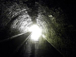 lights at the end of the tunnel