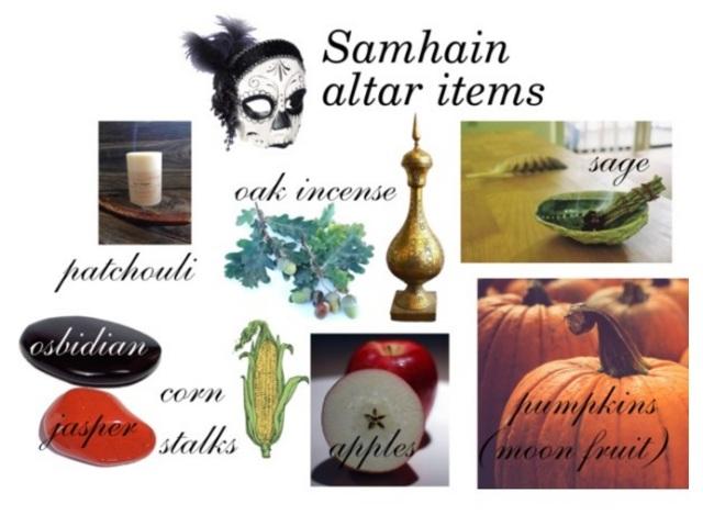 samhain-altar-items